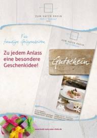 Gutscheine Geschenke & Anlässe Frühstück Zum Vater Rhein