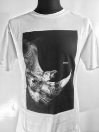Rundhals-T-Shirts HUGO BOSS
