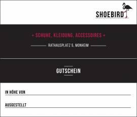 Gutscheine Shoebird
