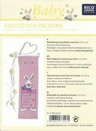 Verzierungen & Trimmungen Sticksets Rico design