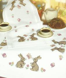Ostern Textilien Kunsthandwerk & Hobby Sticksets Rico Design