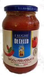 Pastasoßen De Cecco