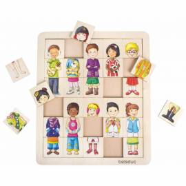 Jeux de puzzle BELEDUC