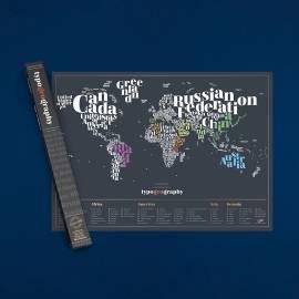 Dekoration Scratchmap