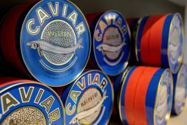 Delikatessen Präsentkörbe Fisch- & Meeresfrüchtekonserven Caviar de France