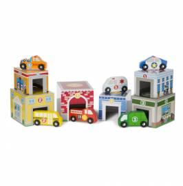 Bausteine & Bauspielzeug Spielzeugautos Melissa & Doug