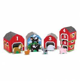 Bausteine & Bauspielzeug Sortier-, Stapel- & Steckspielzeug Melissa & Doug