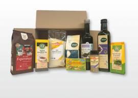 Delikatessen Präsentkörbe Bioprodukte