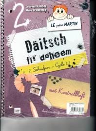 Bücher Le petit Martin Daischt fir doheem cycle 2.2