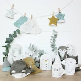 Adventskalender Weihnachtsstrümpfe Fabelab