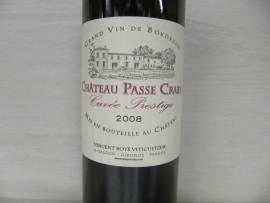 Bordeaux Chateau Passe Craby