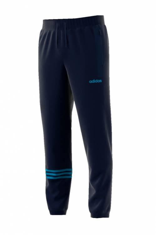 adidas Ess 3S T Pnt Ft Trousers for Man, Black (BlackWhite