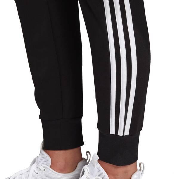 Adidas Damen Essentials 3 Streifen Hose scharz weiß DP2380