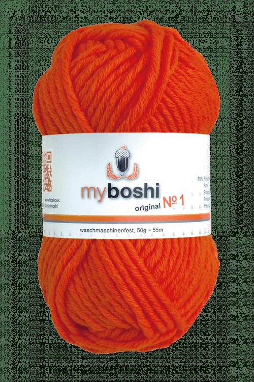 My Boshi No1 Farbe 181 Neon Orange Online City Wuppertal