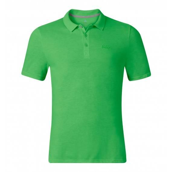 buy online fd863 f85f9 Herren Poloshirt ODLO s/s TRIM Farbe grün 525922