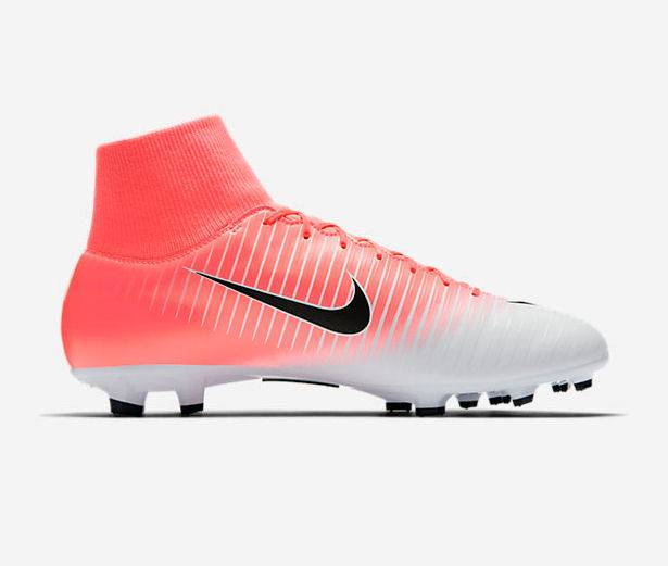 best website abf29 a400e Fußballschuh Nike Mercurial Victory VII DF FG Farbe: racer pink/black