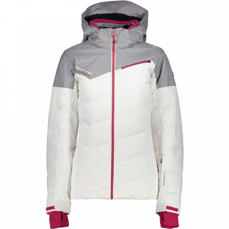 new styles 34371 45c43 CMP Damen Jacke mit Stepp weiß/grau 3W02676