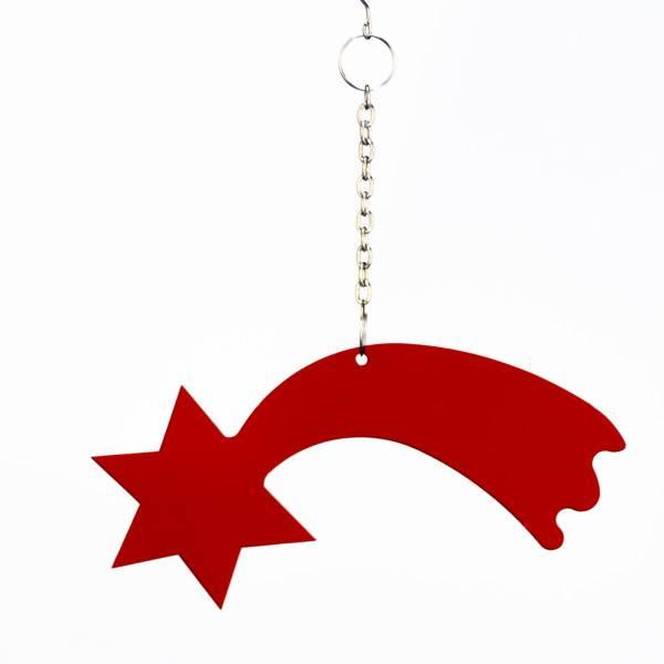 Weihnachtsbaum Rot.Christbaum Schmuck Weihnachtsbaum Rot 2881 Acryl Fensterhänger