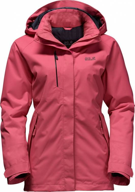 Winterjacke Damen Edge 1107871 Wolfskin Woman Northern Rosebud Jack a5xqEwO7W