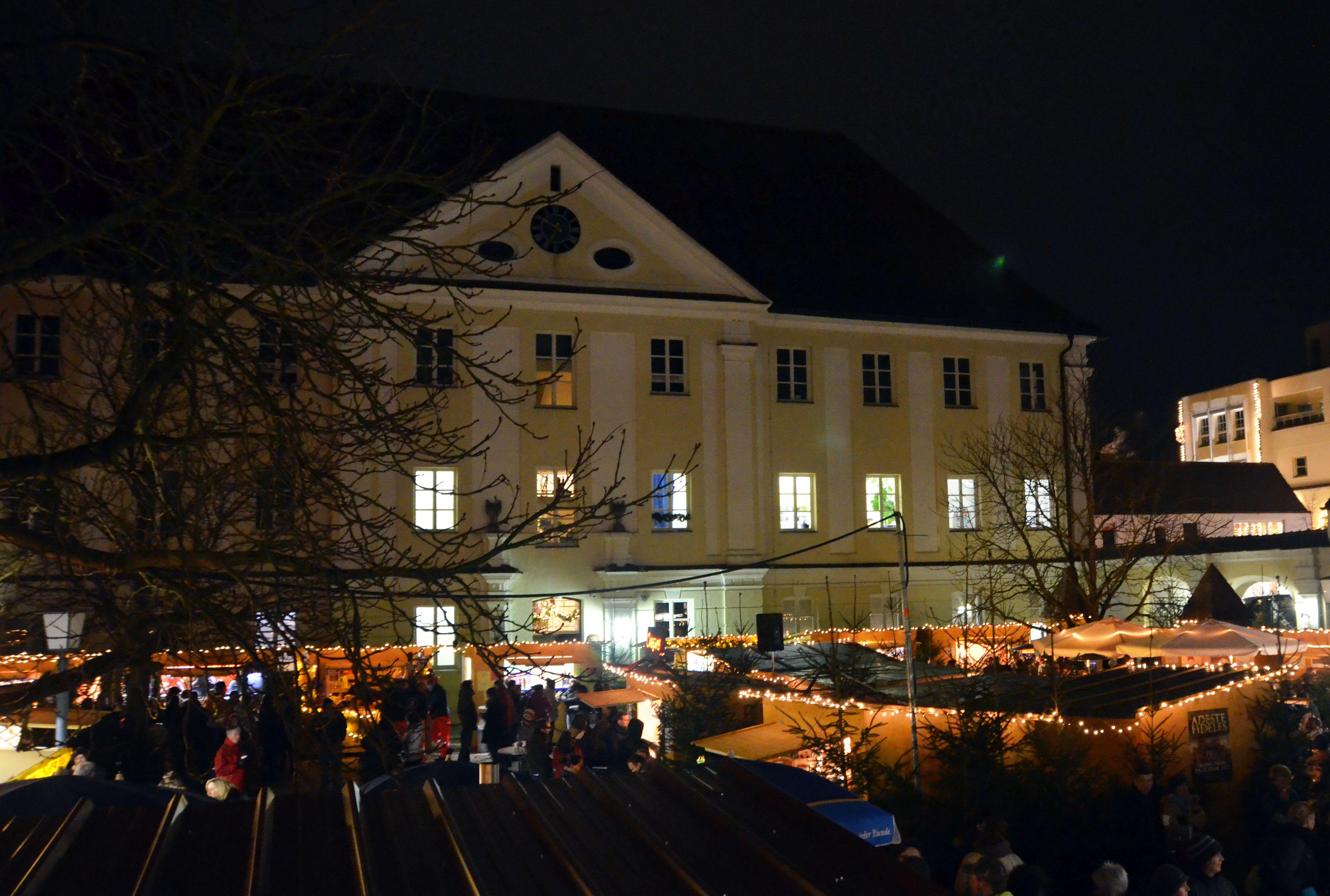 Bild von Günzburg zu Weihnachten