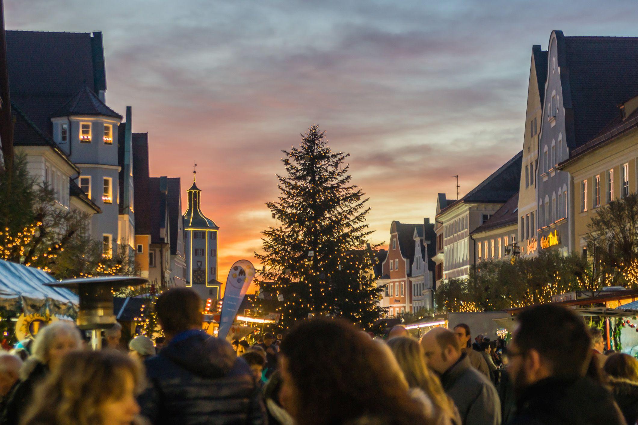 Der Nikolausmarkt in Günzburg
