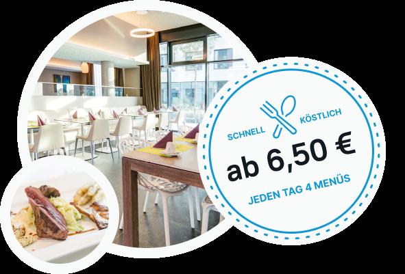 Der Mittagstisch in Monheim