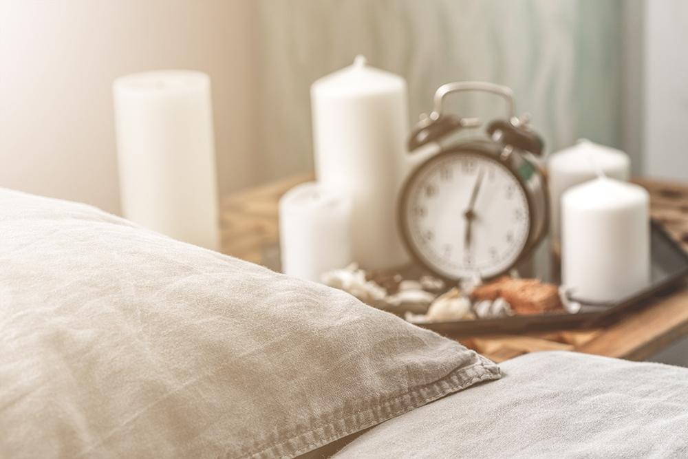 Den Tag im Bett verbringen