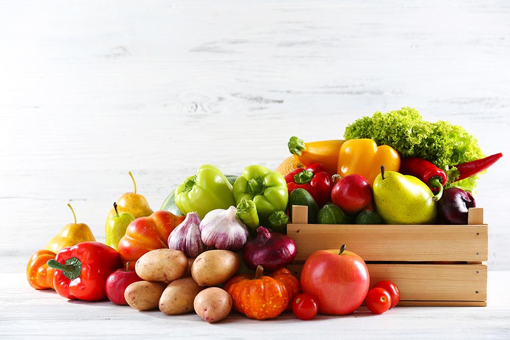 Frisches Gemüse lokal einkaufen