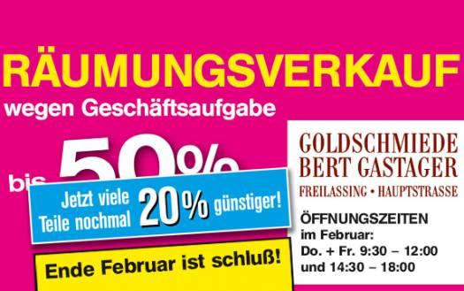 Goldschmiede Bert Gastager
