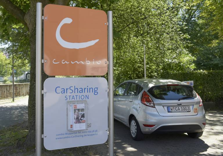 cambio CarSharing Wuppertal Wuppertal