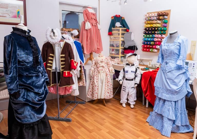 Atelier de costumes Pouce et Compagnie Clémency