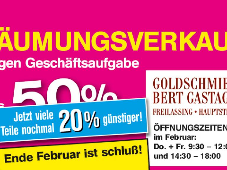 Goldschmiede Bert Gastager Freilassing