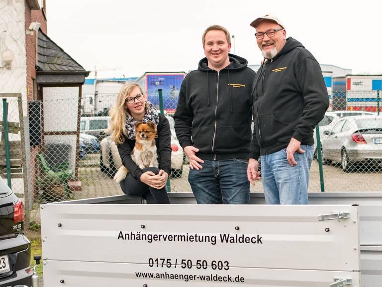 Anhängervermietung Waldeck Monheim am Rhein