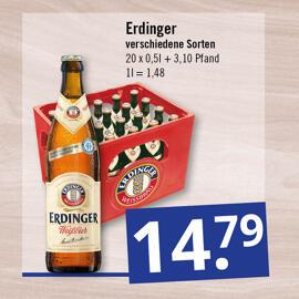 Getränke & Co. Erdinger