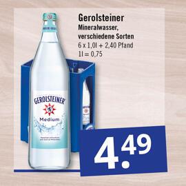 Getränke & Co. Gerolsteiner