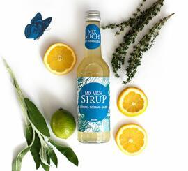 Getränke mit Fruchtgeschmack Sirup Mixmich