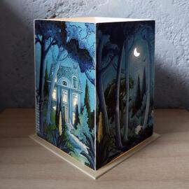 Illustration Papierkunst und Buchgestaltung Geschenkanlässe Geburtstag Weihnachten Anti-Stress Handmade Kerzen & Lichter Kunst Spirituelles Nachtlichter & indirekte Beleuchtung