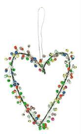 Fensterdrapierung Festtags-Dekoartikel Perlen Dekoration Bell'Arte