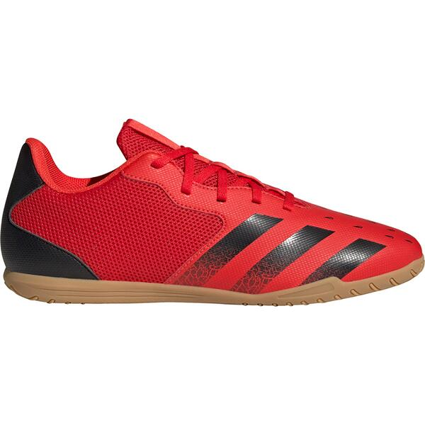 """Herren Fussballhallenschuhe """"PREDATOR FREAK .4 IN SALA"""" Adidas red/cblack/solred FY6327"""