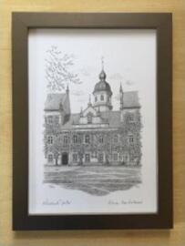 Papierprodukte Pfeifer Bleistiftzeichnungen