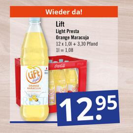 Getränke & Co. Presta-Coca Cola