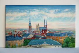 Geburtstag Weihnachten Einweihung Gemälde & Bilder (Halle) Bilder von Michael Höch