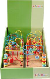 Baby-Aktiv-Spielzeug SpielMaus Holz