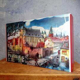 Illustration Papierkunst und Buchgestaltung Anti-Stress Weihnachten Geburtstag Geschenkanlässe Halle (Saale) regionale Produkte Puzzles