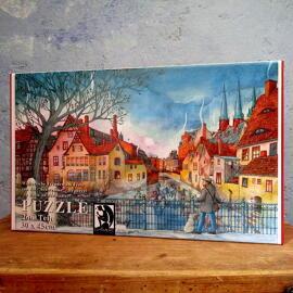 Puzzles Illustration Papierkunst und Buchgestaltung Geschenkanlässe Jubiläum Geburtstag Weihnachten Anti-Stress Halle (Saale) regionale Produkte