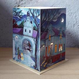 Illustration Papierkunst und Buchgestaltung Geschenkanlässe Geburtstag Weihnachten Halle (Saale) regionale Produkte Anti-Stress Handmade Kerzen & Lichter Nachtlichter & indirekte Beleuchtung