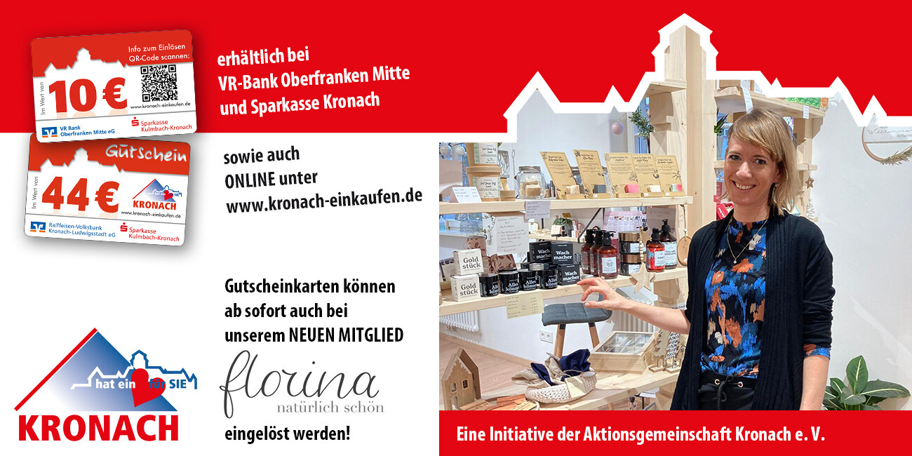 Aktionsgemeinschaft Kronach 1974 e.V hat ein ❤️ für Sie.