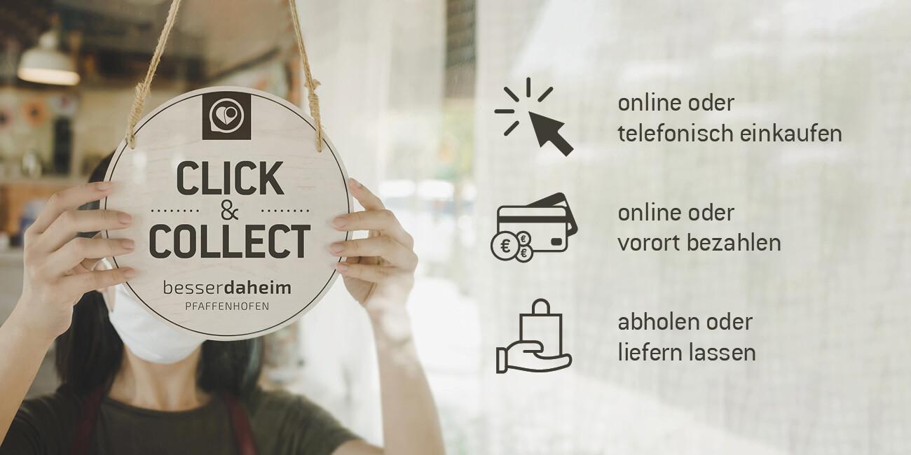 Click & Collect während des we er erneuten Lockdown