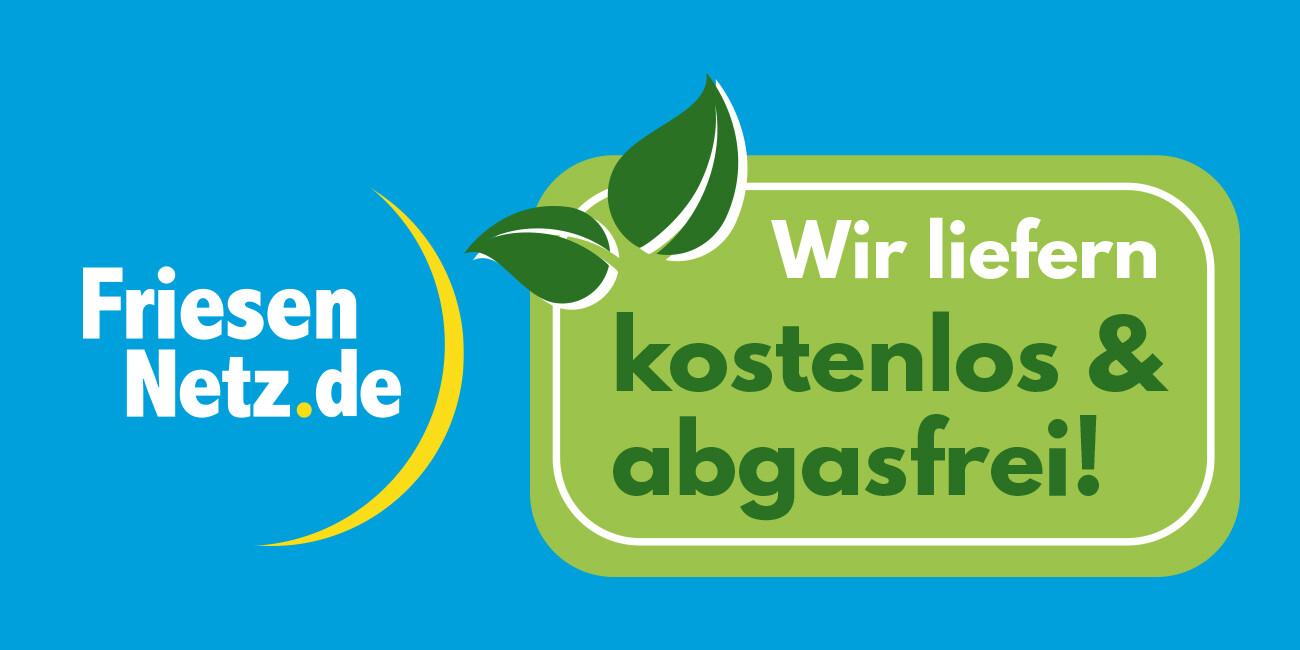 Kostenlose und abgasfreie Lieferung in Nordfriesland-Nord