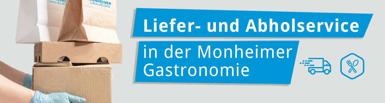 Liefer- und Abholservice in der Monheimer Gastronomie